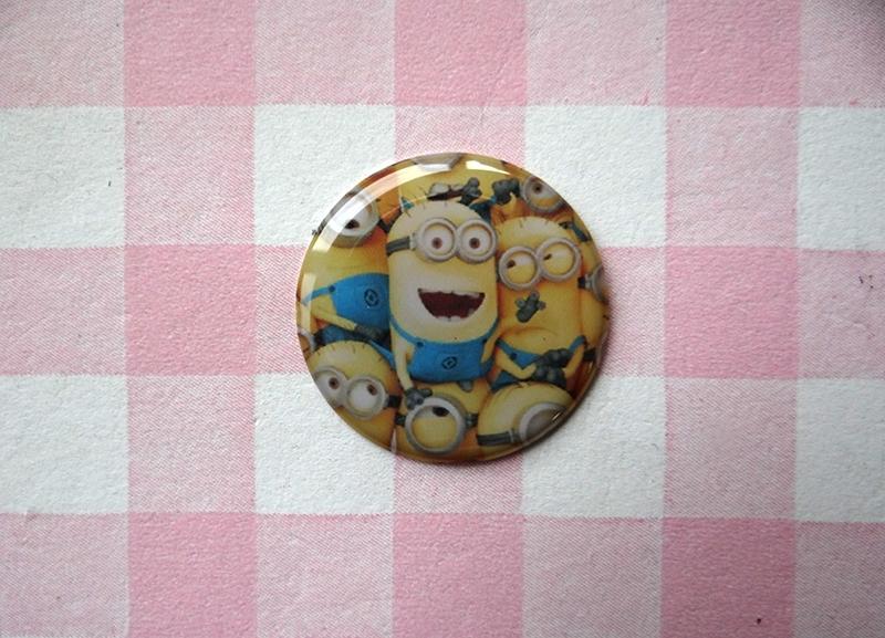 Epoxy sticker Minions