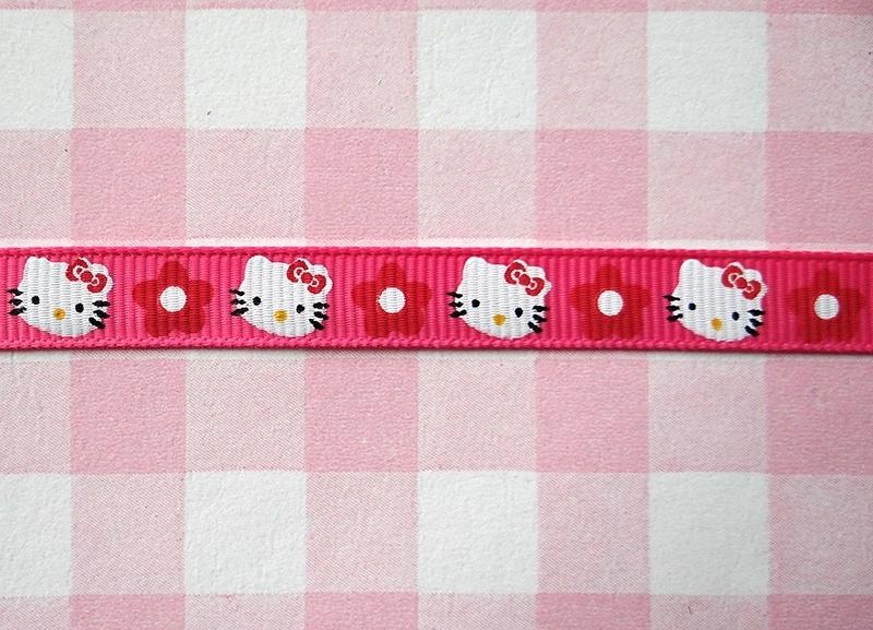Lint Kitty met bloemetje 10 mm