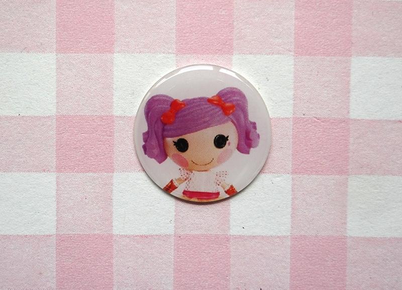 Epoxy sticker Lalaloopsy lila