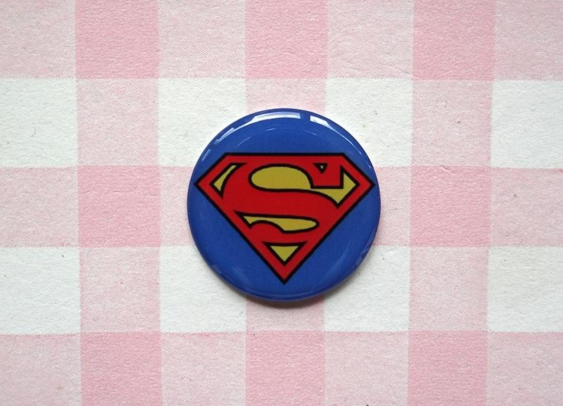 Epoxy sticker Superman