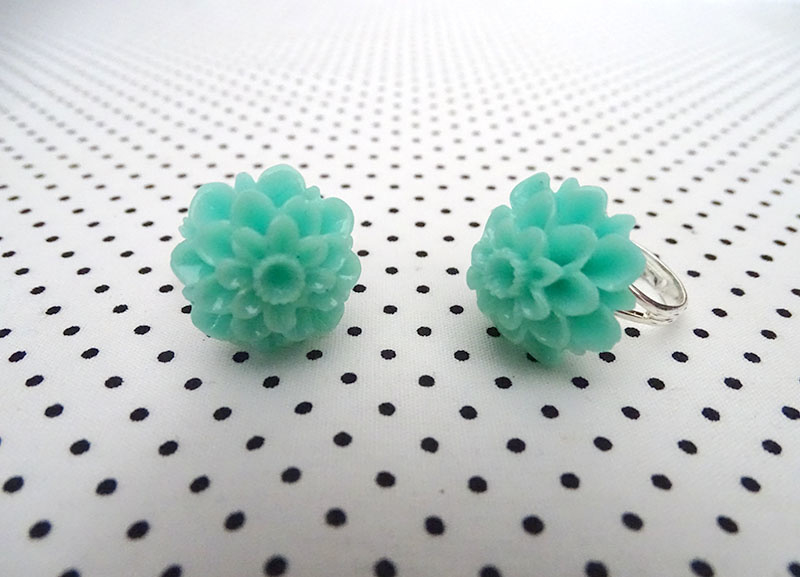 Ring chrysant mint