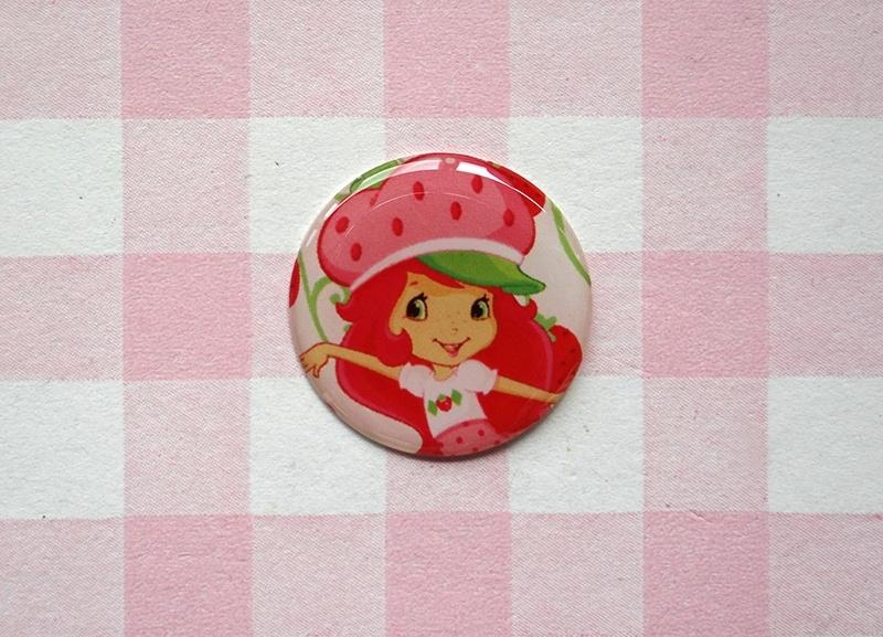 Epoxy sticker Strawberry Shortcake