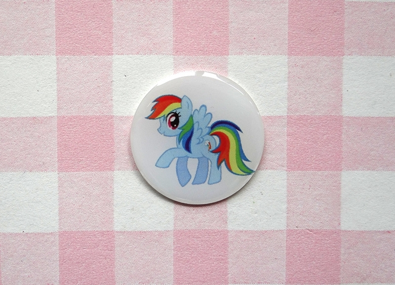 Epoxy sticker My Little Pony Rainbow Dash