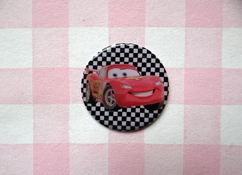 Epoxy sticker Cars Lightning McQueen