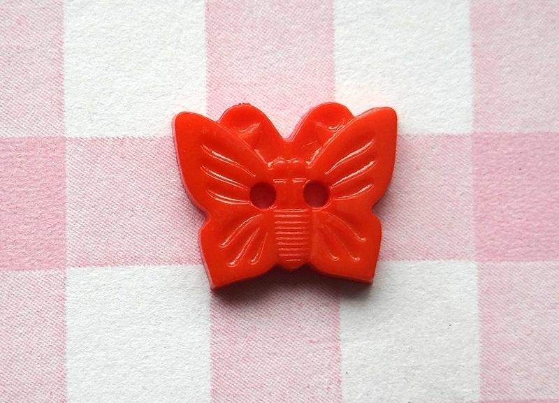 Knoop vlinder oranje