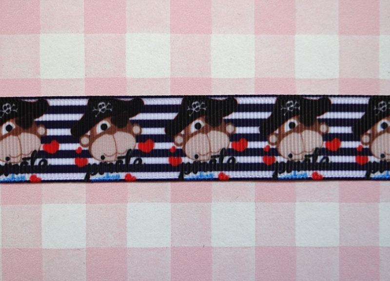 Lint aapje piraat 22 mm