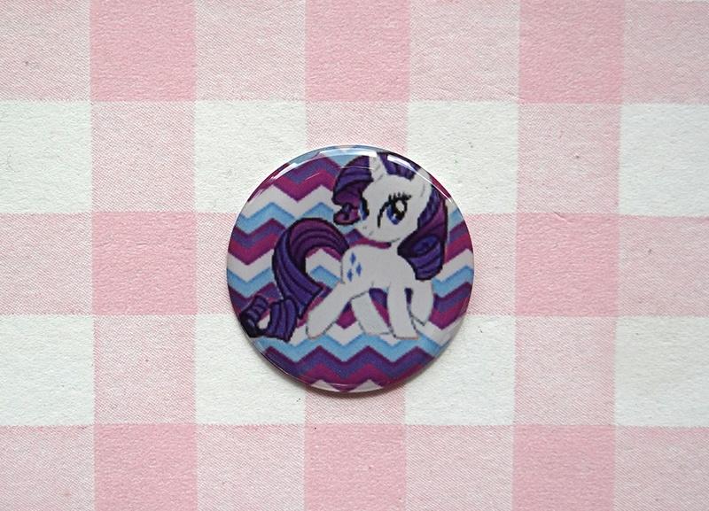Epoxy sticker My Little Pony Rarity