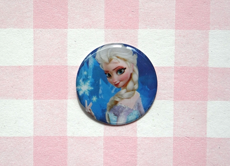 Epoxy sticker Elsa
