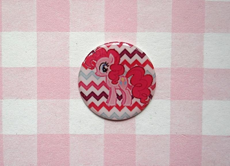 Epoxy sticker My Little Pony Pinkie Pie