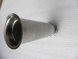 Stösselrohr  mit-Mutter-M36x1-,verschiedene laengen 133-138-141mm