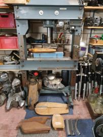Werkstatt Hydraulikpresse