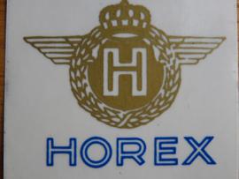 Horex Aufkleber Abm.62x66mm