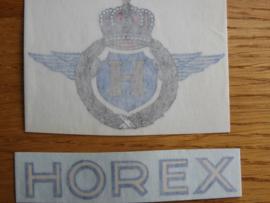 Horex Vorkriegs-Emblem klein,Schiebebild