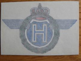 Horex Emblem klein,rubble Bild