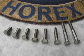 6-kt Schrauben-SW-11-M7,VA-Längen-15-18-22-25-30-45-u-50mm