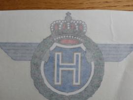 Horex-Emblem gross s.g rubble Bild.
