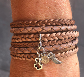 Wrap it! armband Natural Sand