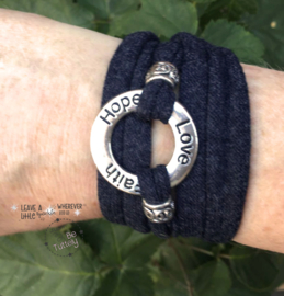 Stretchy Wrap navy