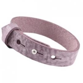 Armband 15 mm ice aubergine purple