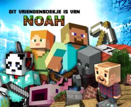 Vriendenboekje Minecraft New met jouw naam! en evt foto