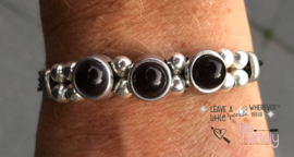 Armband Black and Silver