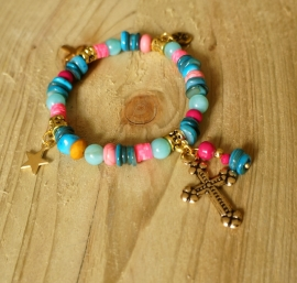 Ibiza Summer 2015 mix & match armband multi beauty gold