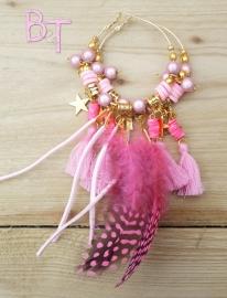 Ibiza Summer 2015 oorringen pink