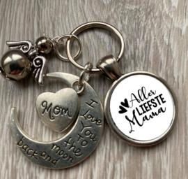 Sleutelhanger voor de liefste.....met guardian angel en kadoverpakking