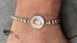 Foto armband little silver