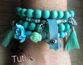 SALE 8 aqua turquoise