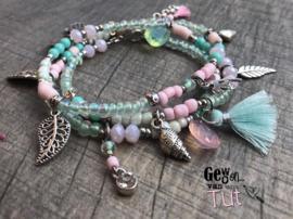Armband Mint Pink Ibiza