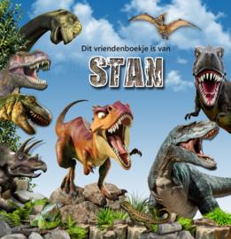 Vriendenboekje Dino's met jouw naam! en evt foto