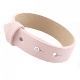 Armband 15 mm pastel pink
