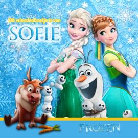 Vriendenboekje Frozen met jouw naam! en evt foto