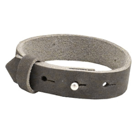Armband 15 mm Taupe grey