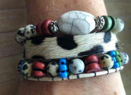 Armbandenset  LS  cow colours