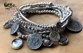 Armbandensetje Zilvertjes nieuw