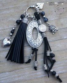 Sleutel / tashanger Mucho Black