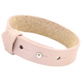 Armband 15 mm Soft Roze Quartz