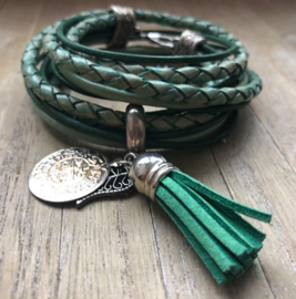 Armband LS wrap green
