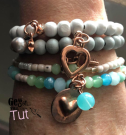 SALE 2 wit turquoise