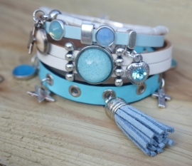 Armbandenset Ibiza Summer Blue