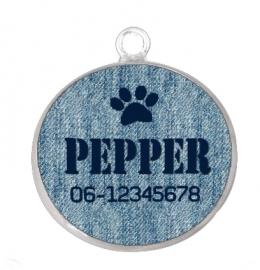 Dog Tag bot bedel (met bevestigingsring)