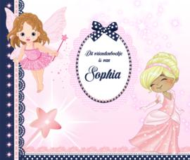 Vriendenboekje Prinses met jouw naam! en evt foto