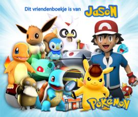 Vriendenboekje Pokemon met jouw naam! en evt foto