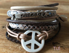 Armbandenset LS natural peace