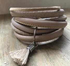 Armband LS wrap sand beige