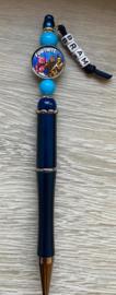 Pen Fortnite  met naam (keuze uit 6 kleuren)