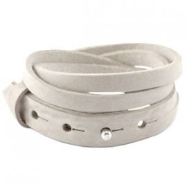 Armband 15 mm dubbel split country grey