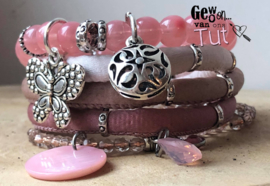 Armbandenset LS Nude pink coral